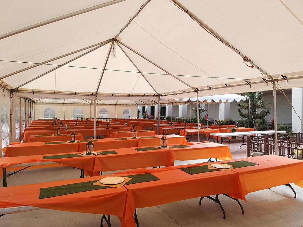 Large Commercial Restaurant Tent