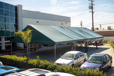 20x40 large gable roof tents green
