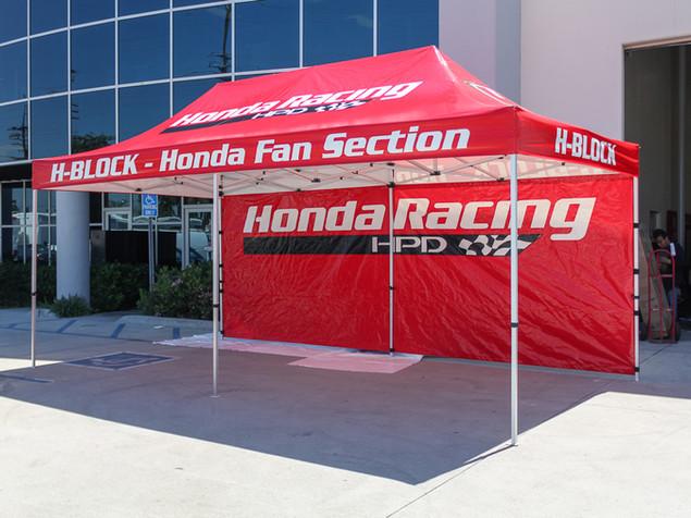 3x6 para Eventos Honda