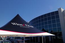 12x12 personalized parasol canopy top Winn Dixie