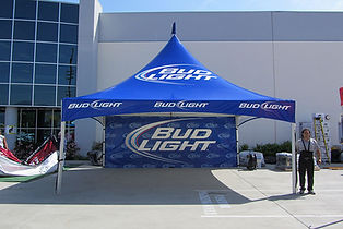 20x20 custom high peak tents manufacturing in El Monte CA