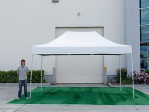 Carpa Plegable Blanca 3x4.5 m