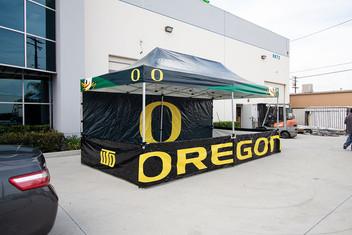 10x20 Custom printed pop up canopy with logos Oregon