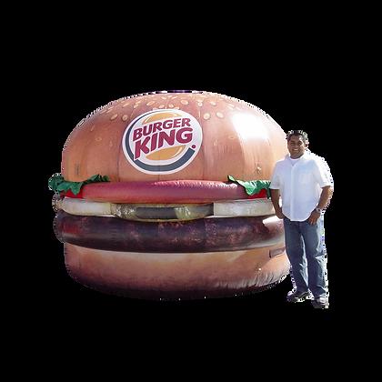 Inflatable Hamburger