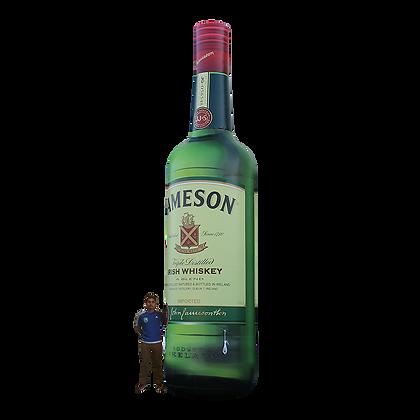 Inflatable Whiskey Bottle