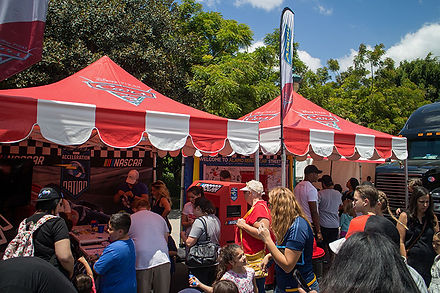 Custom Pop Up Tents with Logos for Disney
