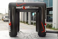 10x10 Portable Inflatable misting tent Verizon