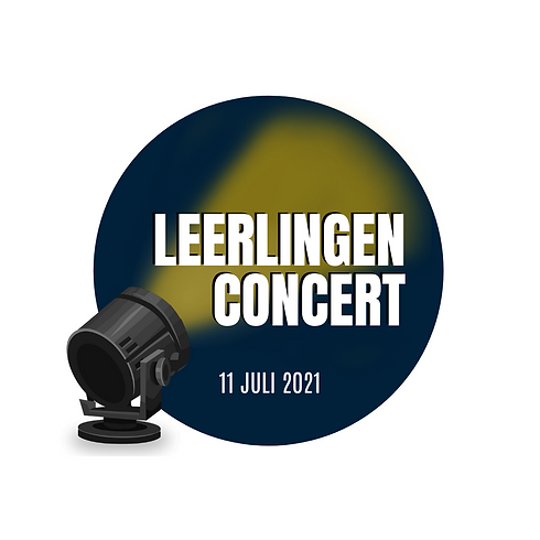 Entree Ticket Leerlingenconcert - Show 1
