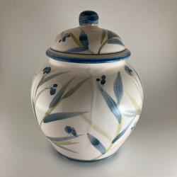 vaso floreale blu 1