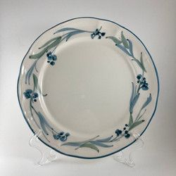 frutta blu floreale