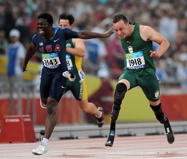 2008 Paralympics 100M Final