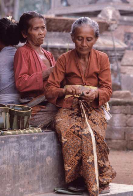 Preparing for temple ceremony