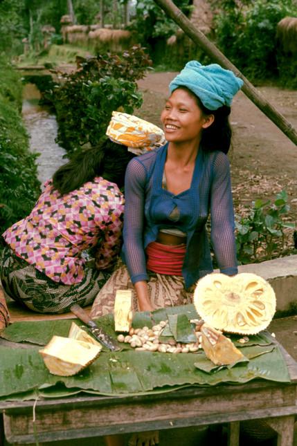 Jackfruit vendors