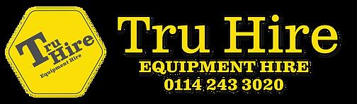 TruHire equipment hire logo for hiring welding equipment from Sheffield