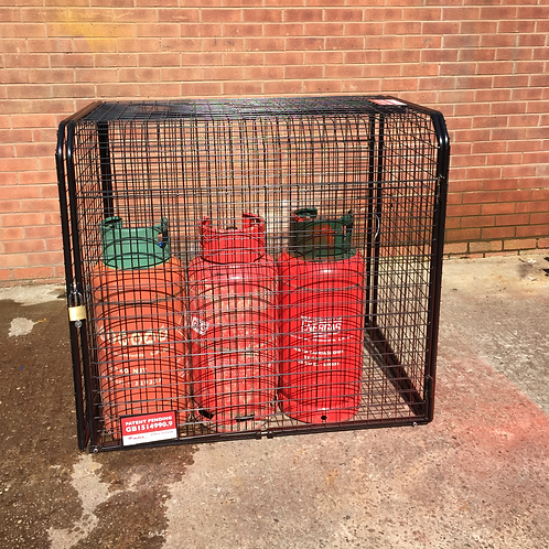 1 or 12 x 19kg Propane Cylinder Expanding Cage