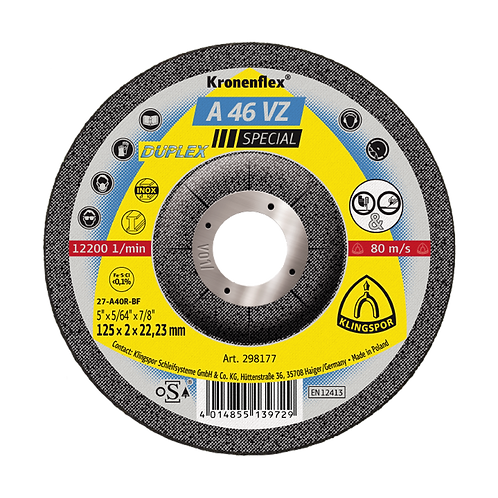 A46 VZ Cutting & Grinding Discs (Pack of 25)