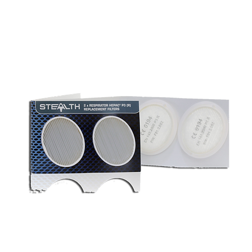Stealth Hepac™ P3(R) Replacement Twin Filters