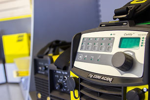 ESAB Caddy in sheffield based welding equipment supplier Truflame Welding Equipment showroom.