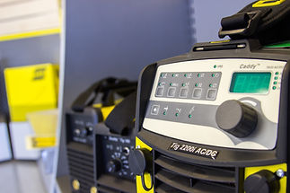 ESAB Caddy welding equipment hire TruHire