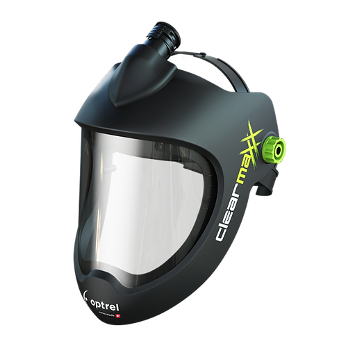 Clearmaxx Grinding Helmet PAPR Version (PAPR System not included)
