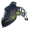 Thumbnail: Panoramaxx Quattro Helmet Black - Complete Air Package