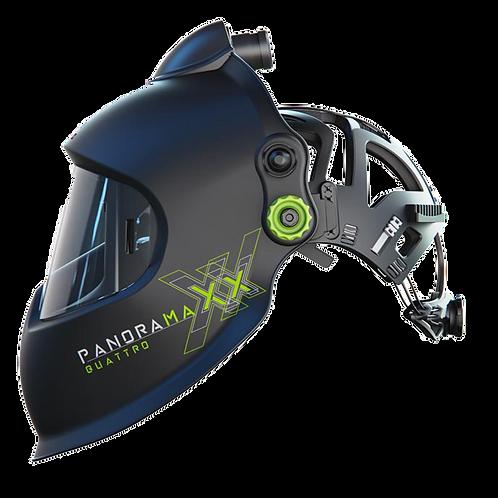 Panoramaxx Quattro Helmet Black - Complete Air Package