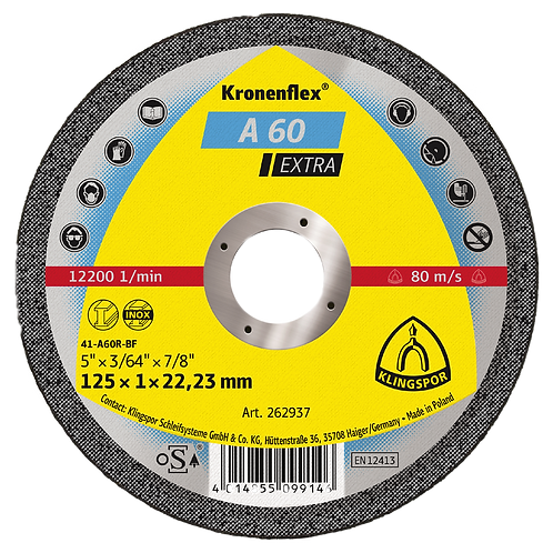A60 Extra cutting-off discs