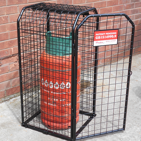 1 or 2 19kg Propane Cylinder Expanding Cage