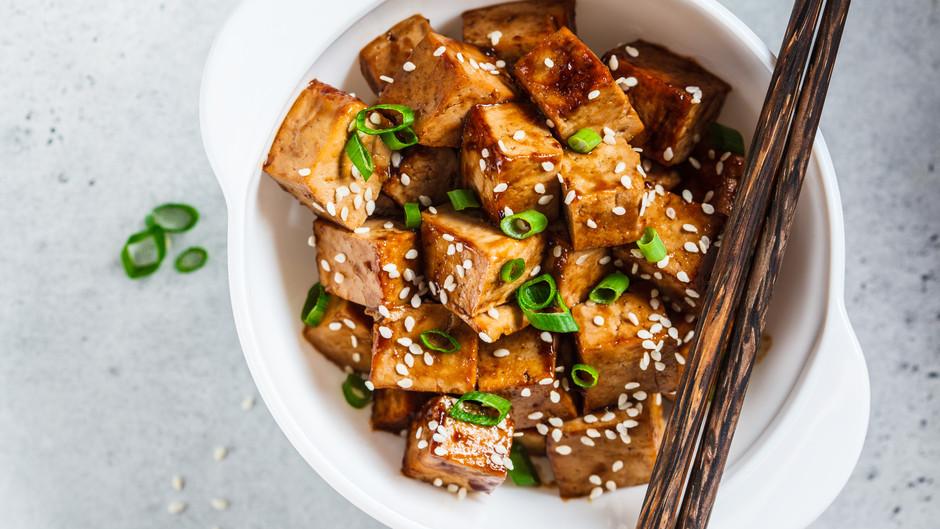 Hanna's Miso-Glazed Baked Tofu