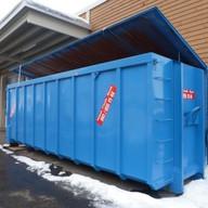Abrollcontainer 36.0 m3 mit Deckel