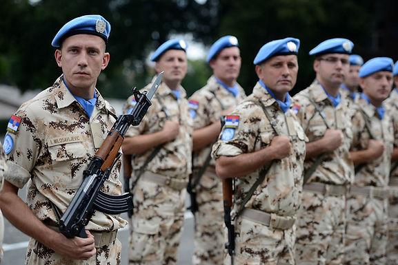 Povratak srpskih plavih šlemova na Kipar uz britanske kolege
