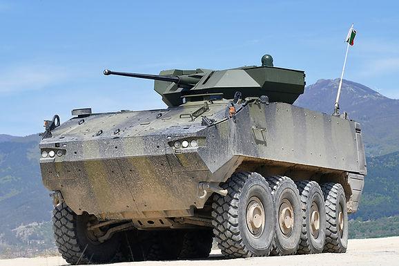 Nadmetanje za bugarska oklopna vozila