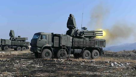 Ruski vojni eksperti: Pancir nemoćan pred malim borbenim bespilotnim letelicama