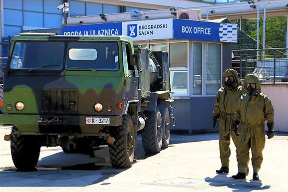 ABHO Vojske Srbije u borbi protiv korone
