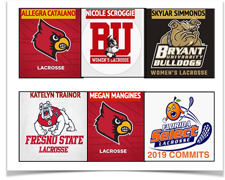 Girls lacrosse commits from Florida