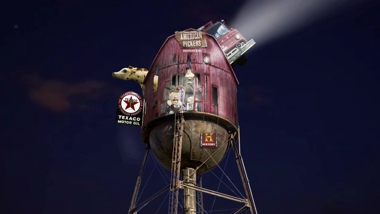 American_Pickers-Barn_Water-Tower_video.