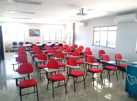 Sala de treinamento Grupo Bizunga