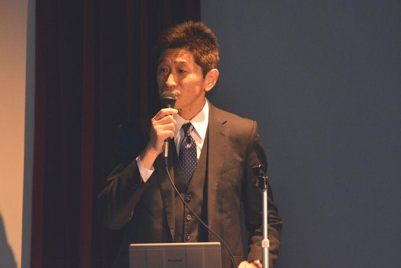 横山惠一氏