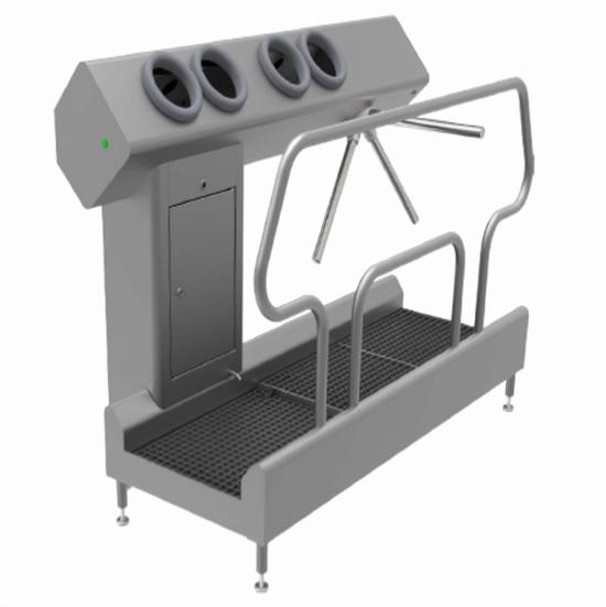 NIEROS社 衛生管理装置「Hygiene Stations」
