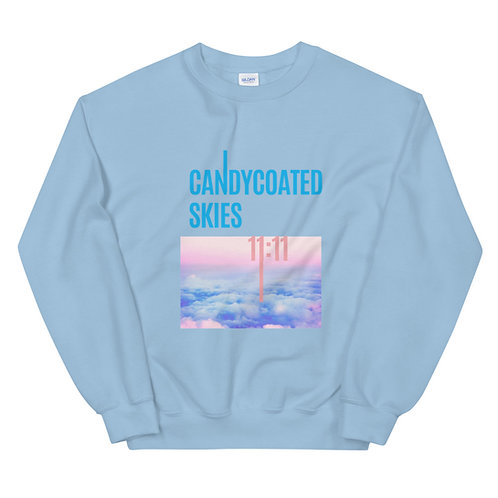 Candy Coated Skies Unisex Sweatshirt