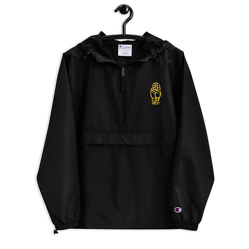 100B+ Embroidered Champion Packable Jacket