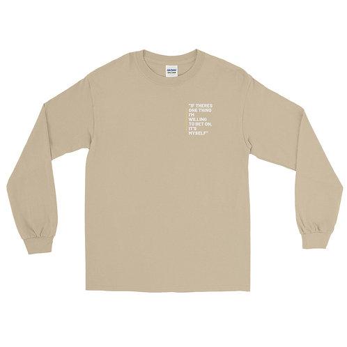 Bet On Me Long Sleeve Shirt