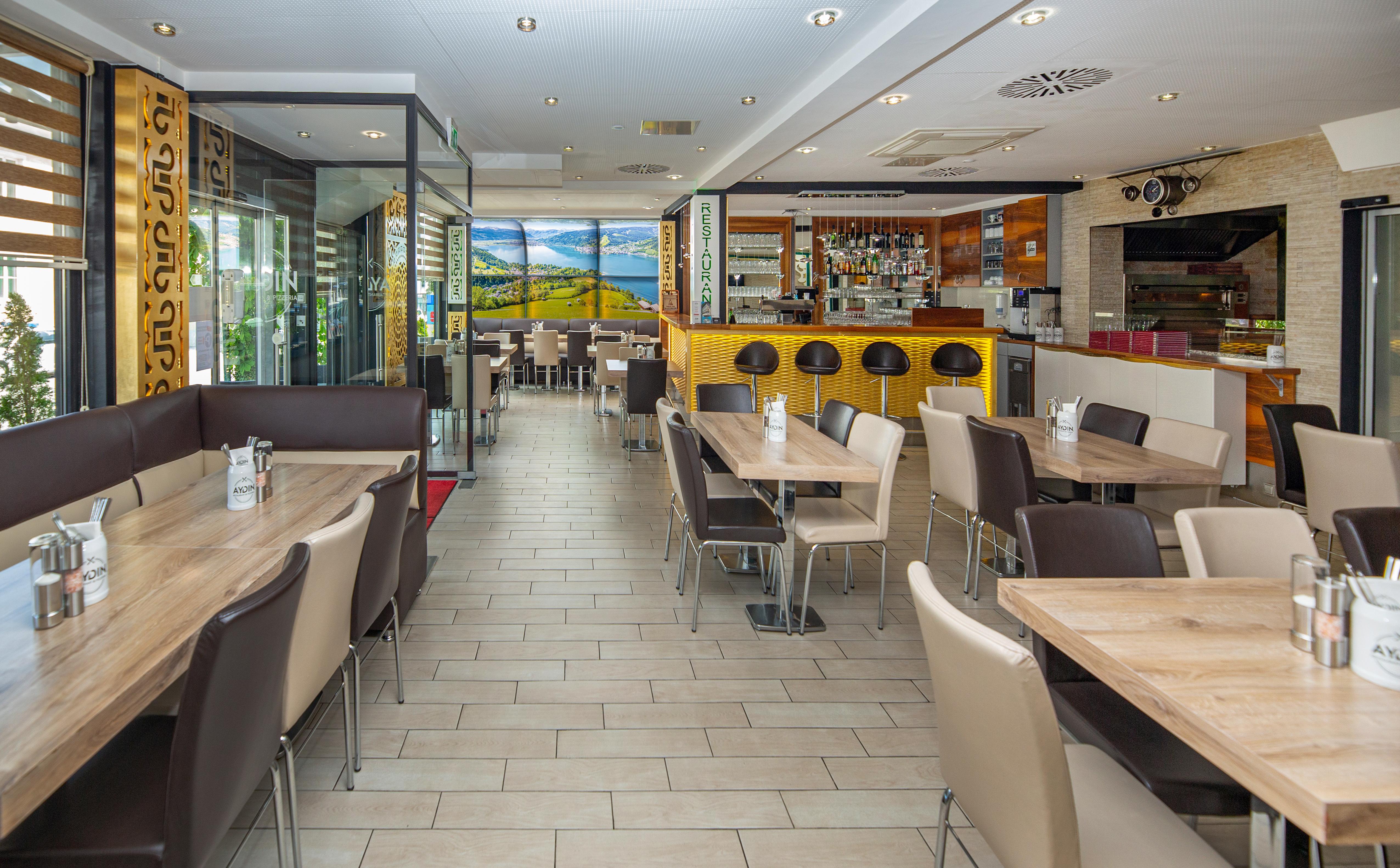 Restaurant & Pizzeria Aydin Innen Essenbereich