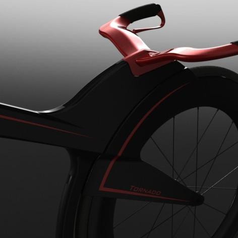 Tornado-concept race bike