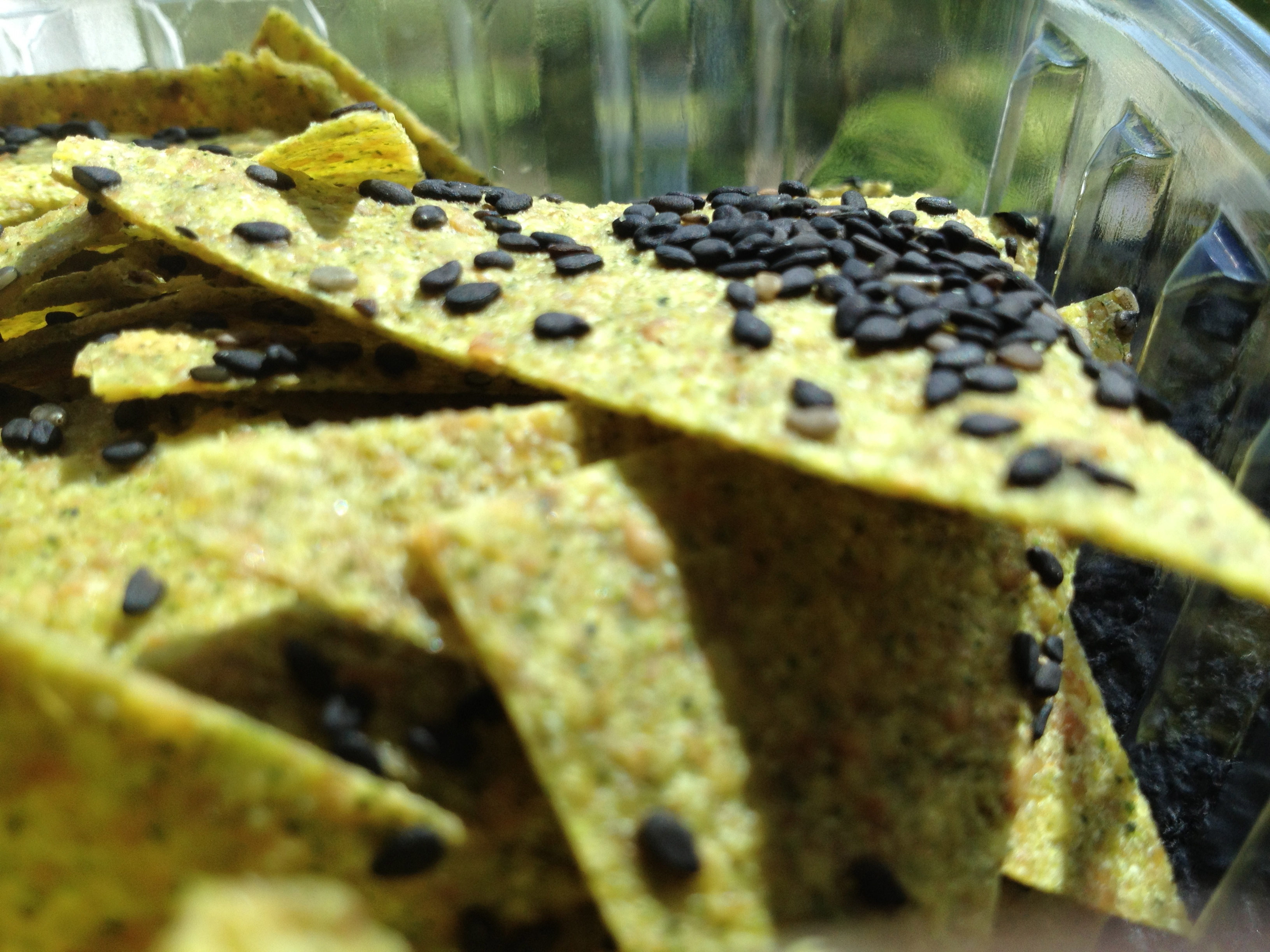 Zuchinni Basil Crackers