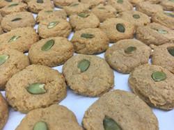 Vegan Pumpkin Spice Cookies