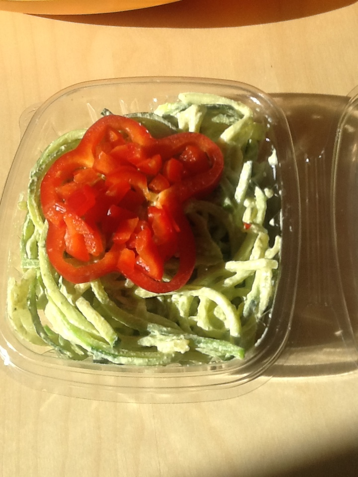 Zuchinni Noodles