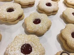 Raspberry Linzer Cookie
