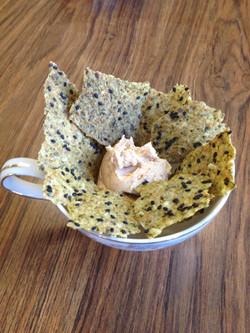 Zuchinni Basil Crackers