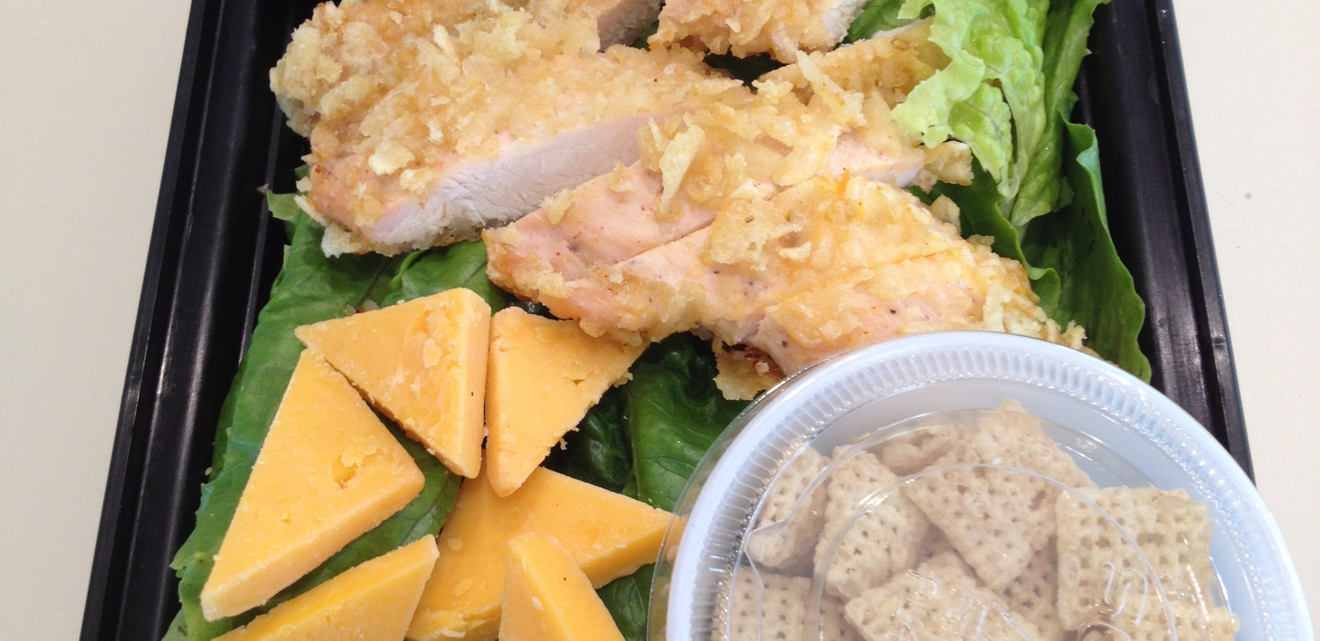 Crispy Chicken Salad w/ Ranch